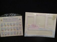 K&Company Frame a name Matt and Alphabet make and frame or scrap booking complet