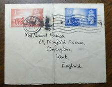 KGVI Cover Chanel Island to Mr Richard Parkins, 65 Mayfield Avenue, Orpington