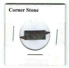 Corner Stone Chewing Tobacco Tag C573 Embossed