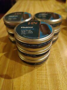 H & N PileDriver Pellets/BoatTail Slugs .22cal (Lot Of 9Tins)