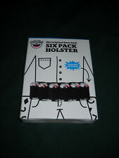 The Original Beer Belt Six Pack Holster w/adjustable waist strap New In Box!