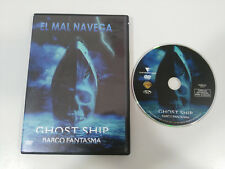 GHOST SHIP BARCO FANTASMA DVD + EXTRAS ESPAÑOL ENGLISH REGION 2 TERROR HORROR