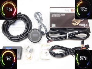 RSR OLED BLACK Breitband Lambda Anzeige + Sonde Bosch 4.9 LSU Wideband Gauge VR6