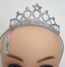 NEW Silver glitter foam material childrens tiara hair accessories party prom