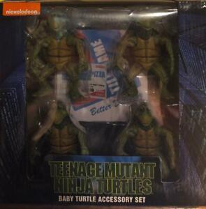 634482540640 NECA AND NICKELODEON BABY TURTLES TEENAGE MUTANT NINJA TURTLES
