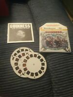 Viewmaster Guinness Book Of World Records 3d Reels Booklet