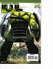 World War Hulk #3 Variant cover! Thor movie Ragnarok FREE SHIPPING AVAILABLE!