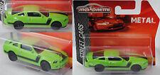 Majorette 212053051 Ford Mustang Boss 302 grün 1:61 STREET CARS