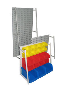 KBR Range - Bench Rack supplied with or without storage boxes