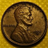 1931-d Lincoln Wheat Cent with sharp AU details!