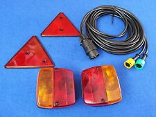 Complete Rewiring Light Kit with Cluster 2.5m Cable Suit Erde 102 Car Trailers