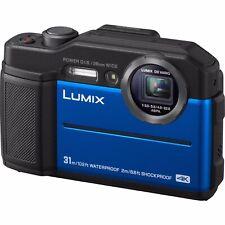 Panasonic LUMIX TS7 Waterproof Tough 20.4 MP 4.6x Zoom Digital Camera (Blue)