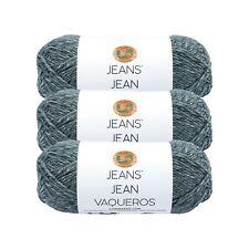 Lion Brand Yarn 505-150 Jeans Yarn, Vintage (Pack of 3 skeins)