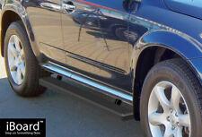 "Premium 4"" Black iBoard Side Steps Fit 03-08 Nissan Murano"