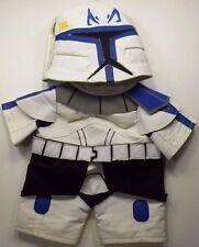 Build Bear Clothes Boys Lot 2 Star Wars Stormtropper Helmet & Outfit