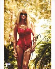 Genevieve Morton Signed 11x14 Photo PSA/DNA COA Sports Illustrated Swimsuit 2013