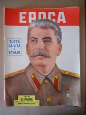 EPOCA n°127 1953  Numero speciale Tutta la vita di Stalin [G774]