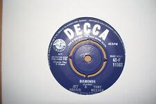 JET HARRIS/TONY MEEHAN,  DIAMONDS,  DECCA RECORDS 1963 EX/EX+