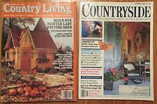 Country Living & Countryside Magazine ~ Garden, Ideas, Projects, Folk Art 93-94