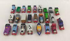Thomas & Friends Take Along N Play Train Lot of 25 Die-Cast Engines & Tenders