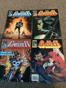 the punisher -marvel uk comics 1989 job lot