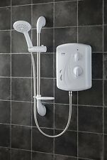 Electric Power Shower Triton Seville 8.5kW Cold Water Hot Bath 5 Spray Patterns