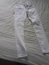 New ASOS Size 12 Tall, skinny,  Length 34 White Denim Jeans