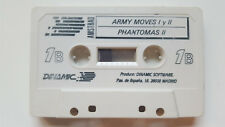 ARMY MOVES - PHANTOMAS - DUSTIN - NONAMED / DINAMIC CASSETTE / AMSTRAD SPECTRUM