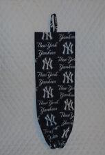 NY Yankees Design Homemade Fabric Grocery Plastic Bag Holder