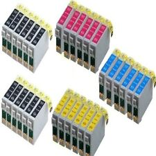 30x für Epson Stylus SX218 SX100 SX200 DX4400 DX4050 DX7400 DX7450 Tinte Patrone