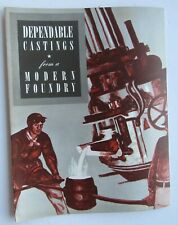 """Booklet International Nickel Co. Inc """"Dependable Castings From A Modern Foundry"""