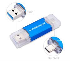 PEN DRIVE CHIAVETTA MEMORY USB TIPO C 32 GB PER CELLULARE PC 2 IN 1