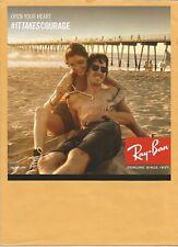 RAY-BAN Bans rays   Sunglasses  - Print Ad