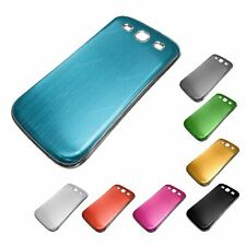 Battery Cover Case for Samsung Galaxy S3 Brushed Metal Chrome Effect Colour