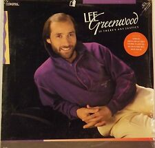 """Lee Greenwood """"Is There Any Justice"""" LP Record Still Sealed! New"""