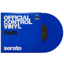 SERATO DJ 7-INCH CONTROL VINYL - PAIR - PERFORMANCE SERIES BLUE / DVS