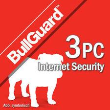 Bullguard Internet Security 2019 3 Appareils 3 Pc  1 an Antivirus 2018 BE EU