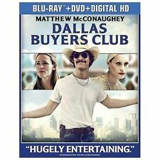 DALLAS BUYERS CLUB/Matthew McConaughey/BLU-RAY+DVD+DIG HD/BUY 4 ITEMS SHIP FREE