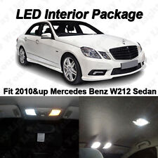 20 x White SMD LED Interior Lights Package For Mercedes W212 E-Class