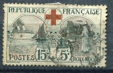 FRANCE TIMBRE OBLITERE N° 156   CROIX ROUGE