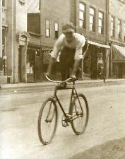 Vintage Bicycling Antique Biking Doing Bike Tricks Bicycle Stunt Rider 1920 LOOK