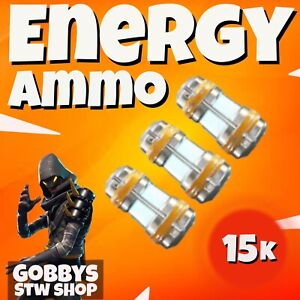 FORTNITE Save The World - 15k ENERGY AMMO CELLS BUNDLE - PS4 - PS5 - XBOX - PC