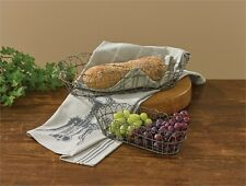 Vintage primitive style wire cracker & bread baskets farmhouse country home