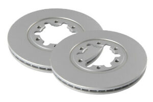 2 x Brake Discs Front Vented Fits Nissan Cabstar 3.0 E110 00-04
