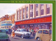 Jigsaw Puzzle Wonder Of Woolies Shop: FW Woolworths Sixpence Buses Classic Cars