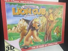 Universal'S 3d LION CUB BOARD GAME