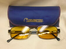 Men's Eyeglasses Sunglasses UMBRO Brown Frame Amber Lenses Wilmslow 145 52018