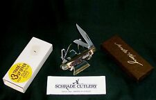 """Schrade 807UH Knife Uncle Henry 1980's """"SFO"""" 2-3/4"""" Closed W/Packaging,Paperwork"""