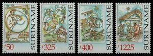 Surinam 1998 - Mi-Nr. 1666-1669 ** - MNH - Weihnachten / X-mas