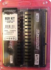 Ballistix Elite 8GB Kit (4GBx2) DDR3 2133 MT/s (PC3-17000) UDIMM 240-Pin Memory